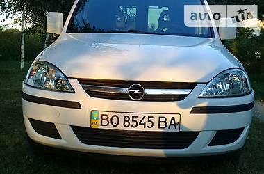 Характеристики Opel Combo пасс. Легковой фургон (до 1,5 т)