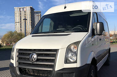 Характеристики Volkswagen Crafter пас Легковий фургон (до 1,5т)