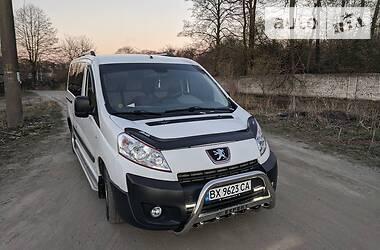 Характеристики Peugeot Expert пасс. Легковой фургон (до 1,5 т)