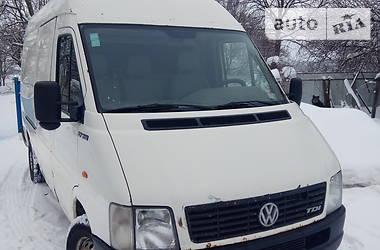Характеристики Volkswagen LT груз. Легковий фургон (до 1,5т)