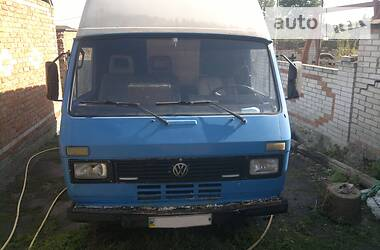 Характеристики Volkswagen LT груз. Легковой фургон (до 1,5 т)