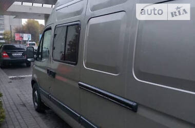Характеристики Renault Master пасс. Легковой фургон (до 1,5 т)