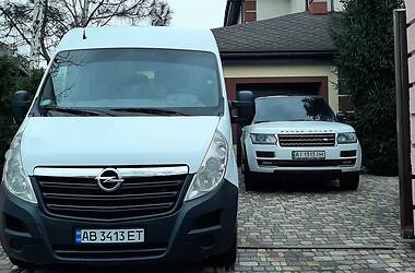 Характеристики Opel Movano груз. Легковой фургон (до 1,5 т)