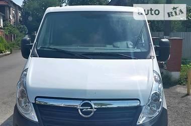 Характеристики Opel Movano пасс. Легковой фургон (до 1,5 т)
