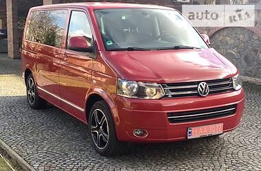 Характеристики Volkswagen Multivan Легковой фургон (до 1,5 т)
