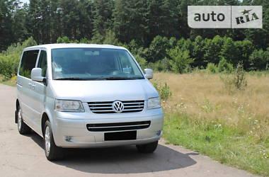 Характеристики Volkswagen Multivan Легковий фургон (до 1,5т)