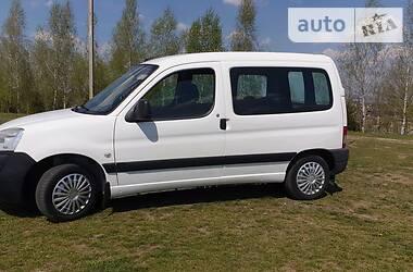 Характеристики Peugeot Partner пасс. Легковий фургон (до 1,5т)