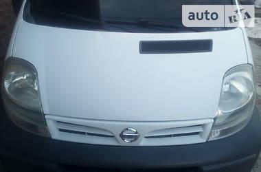 Характеристики Nissan Primastar пасс. Легковий фургон (до 1,5т)