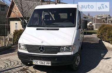 Характеристики Mercedes-Benz Sprinter 208 пасс. Легковой фургон (до 1,5 т)