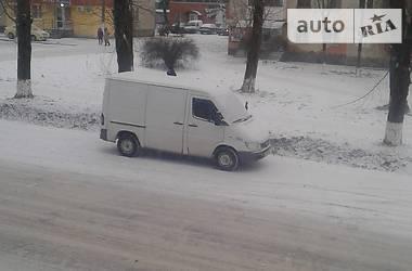 Характеристики Mercedes-Benz Sprinter 211 груз. Легковой фургон (до 1,5 т)