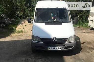 Характеристики Mercedes-Benz Sprinter 213 пасс. Легковой фургон (до 1,5 т)