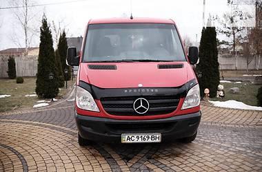 Характеристики Mercedes-Benz Sprinter 213 пас. Легковий фургон (до 1,5т)