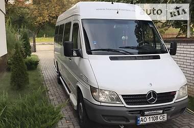 Характеристики Mercedes-Benz Sprinter 311 пасс. Легковой фургон (до 1,5 т)