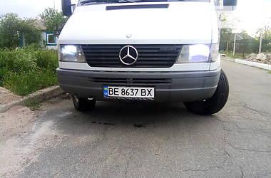 Характеристики Mercedes-Benz Sprinter 312 груз. Легковой фургон (до 1,5 т)