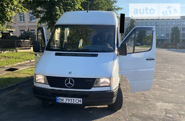 Характеристики Mercedes-Benz Sprinter 312 пасс. Легковой фургон (до 1,5 т)