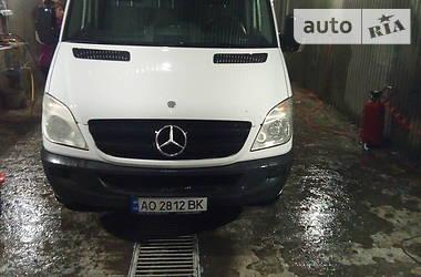 Характеристики Mercedes-Benz Sprinter 313 груз. Легковий фургон (до 1,5т)
