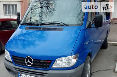Характеристики Mercedes-Benz Sprinter 313 пасс. Легковой фургон (до 1,5 т)