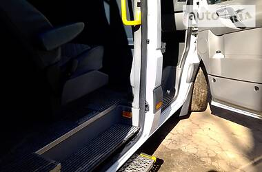 Характеристики Mercedes-Benz Sprinter 315 пасс. Легковой фургон (до 1,5 т)