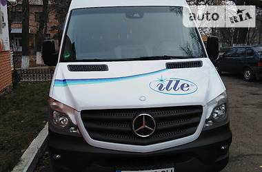 Характеристики Mercedes-Benz Sprinter 316 груз. Легковой фургон (до 1,5 т)