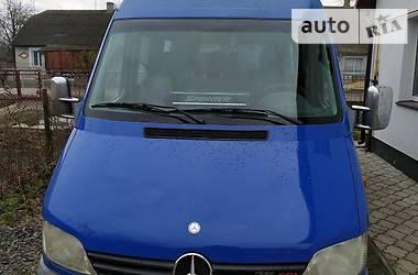 Характеристики Mercedes-Benz Sprinter 316 пасс. Легковой фургон (до 1,5 т)