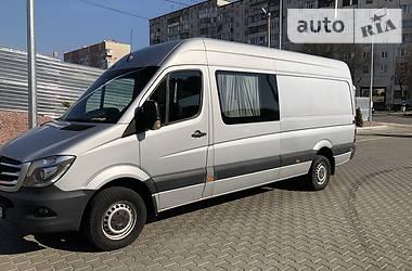 Характеристики Mercedes-Benz Sprinter 318 пасс. Легковой фургон (до 1,5 т)