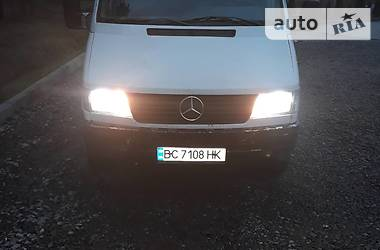 Характеристики Mercedes-Benz Sprinter 412 груз. Легковой фургон (до 1,5 т)