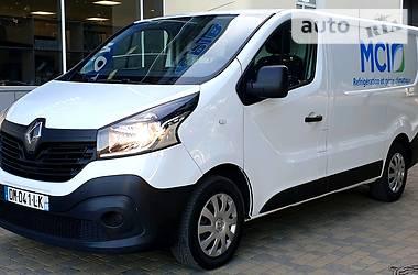 Характеристики Renault Trafic груз. Легковой фургон (до 1,5 т)