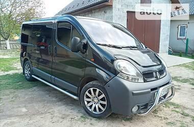 Характеристики Renault Trafic пасс. Легковой фургон (до 1,5 т)