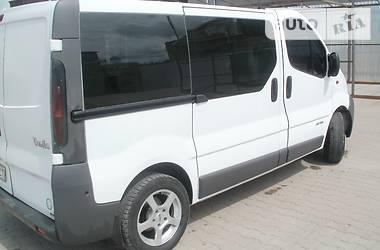 Характеристики Renault Trafic пасс. Легковий фургон (до 1,5т)