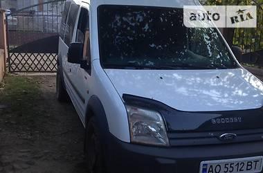 Характеристики Ford Transit Connect груз. Легковой фургон (до 1,5 т)