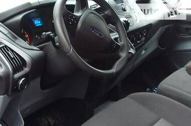 Характеристики Ford Transit Custom Легковой фургон (до 1,5 т)