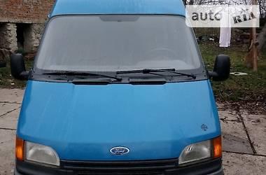 Характеристики Ford Transit пасс. Легковой фургон (до 1,5 т)