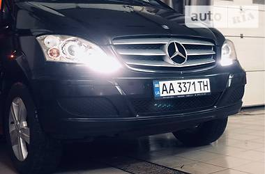 Характеристики Mercedes-Benz Viano пасс. Легковой фургон (до 1,5 т)