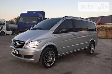 Характеристики Mercedes-Benz Viano Легковой фургон (до 1,5 т)