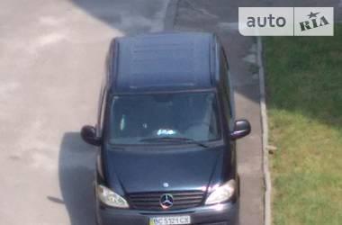 Характеристики Mercedes-Benz Vito груз. Легковой фургон (до 1,5 т)