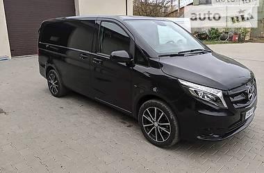 Характеристики Mercedes-Benz Vito пасс. Легковой фургон (до 1,5 т)