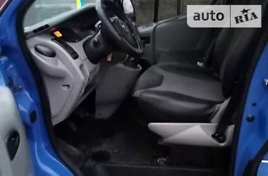 Характеристики Opel Vivaro груз. Легковой фургон (до 1,5 т)