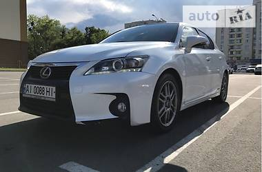 Lexus CT 200H Luxury Line 2014