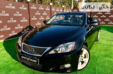 Lexus IS 250 CABRIO 2012