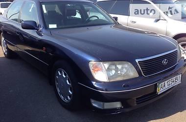 Lexus LS 400 400 EUROPA 1998