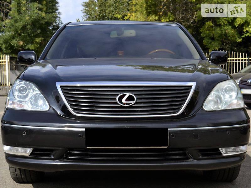 Lexus LS 2004 года