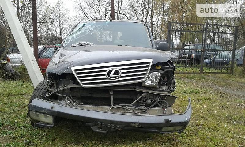 Lexus LX 2007 года