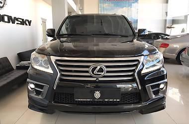 Lexus LX 570 Luxury + Sport 2013