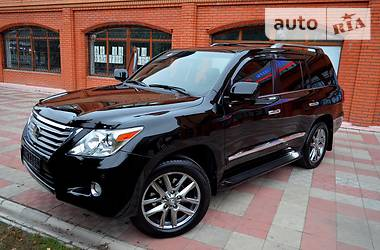 Lexus LX 570 Ultra Luxury  2011