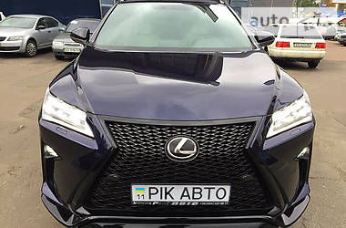 Lexus RX 200 Turbo F-Sport Luxury 2015