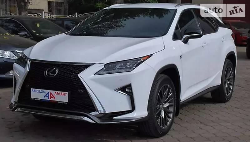 Lexus RX 2017 года