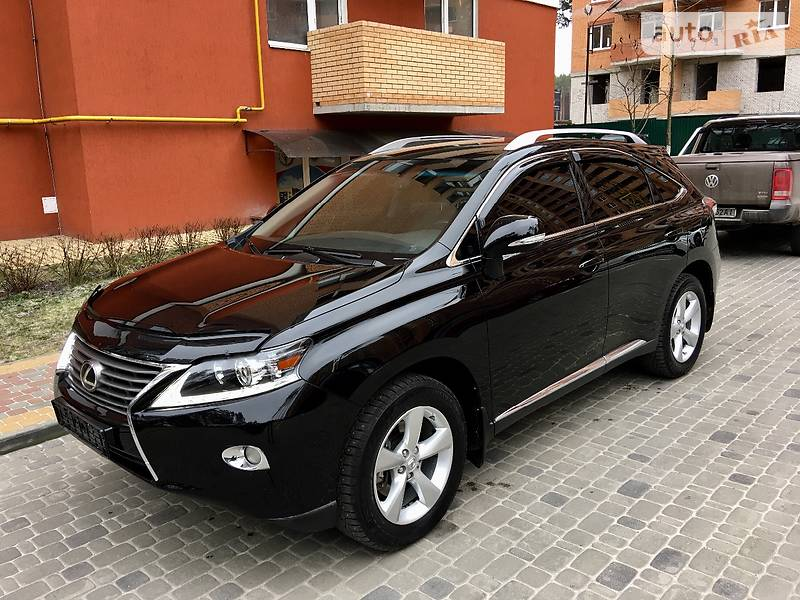 Lexus RX 2013 року
