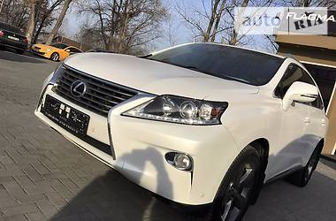 Lexus RX 350 WHITE PEARL 2013