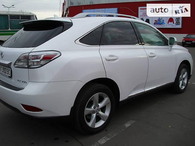 Lexus RX 2011 года