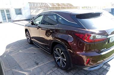 Lexus RX 450 Hybrid Official 2016